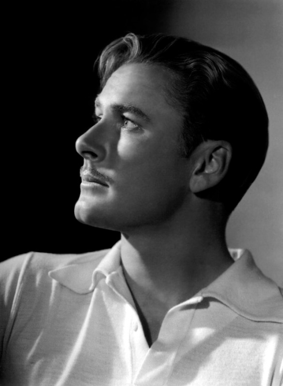 Errol Flynn - by George Hurrell 1938. Scanned by jane for Dr. Macro's High Quality Movie Scans website: http://doctormacro.com/. Enjoy!